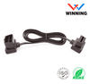 OBDII 16P J1962 Male to OBDII 16P J1962 Female, GPS tracking flat cable