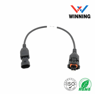Bosch 2-2 DB25 Pin Male header to Amp 12 Pin Female header and Amp 2 Pin Female header CABLE
