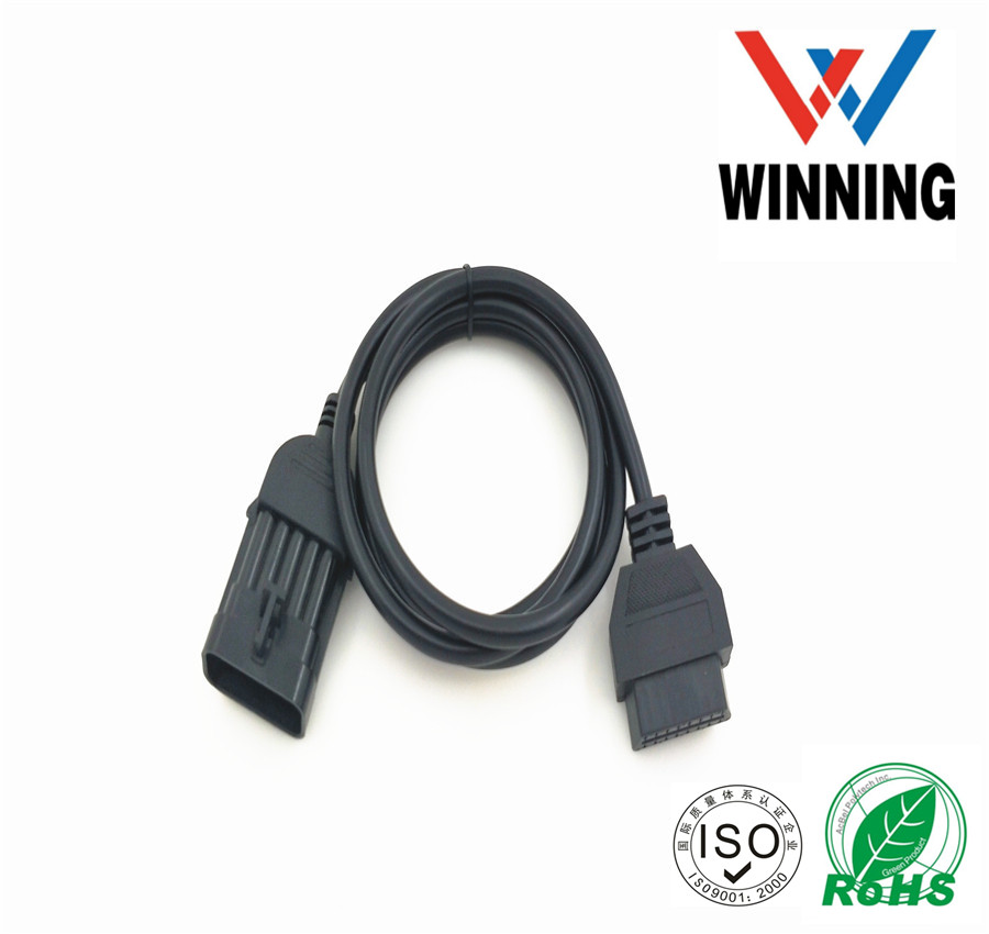 Opel 10Pin to OBD2 16PIN Cable Opel 10 pin Vehical Inspection Cable.